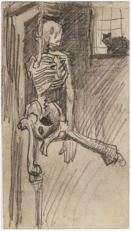 Skeleton (Van Gogh, ca. 1886)