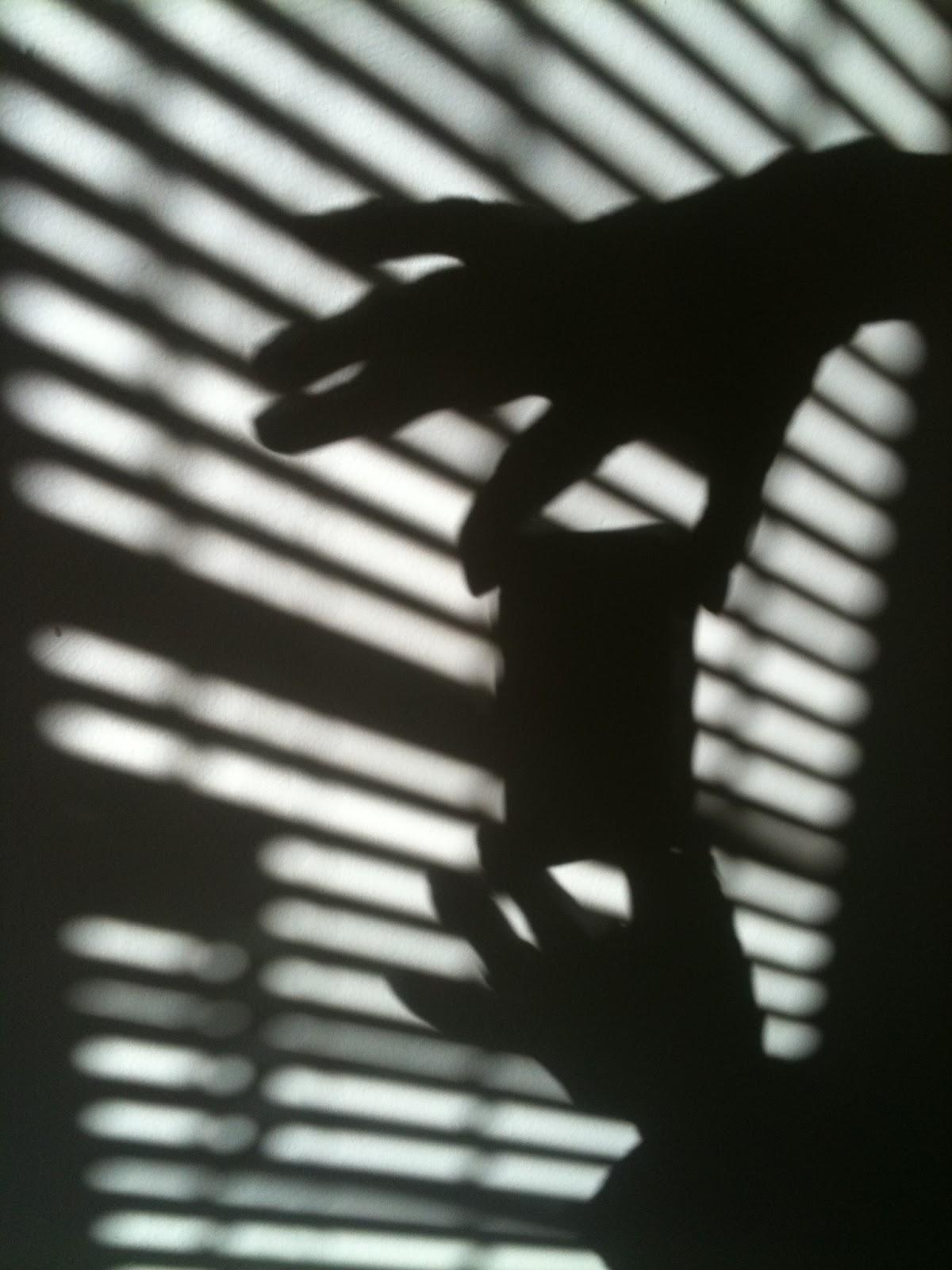 Camera phone shadow
