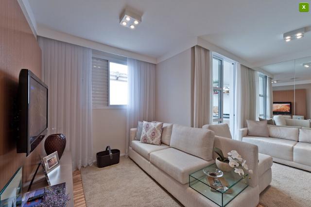 apartamento decorado  Apartamentos Decorados :: Inspirações