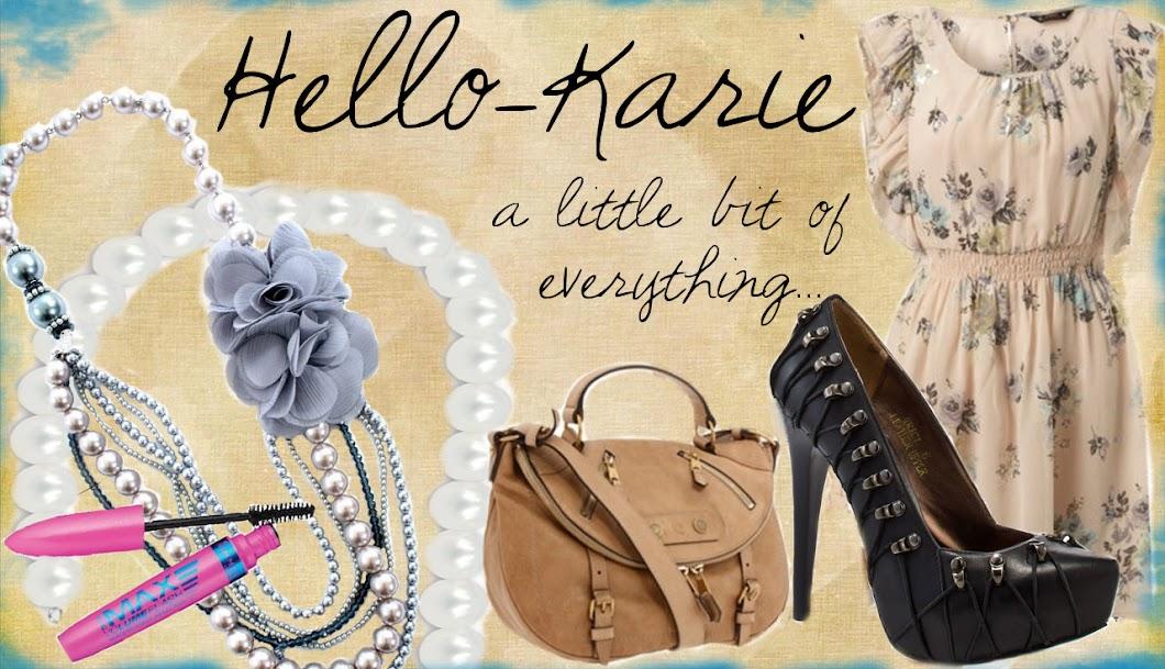hello-Karie!