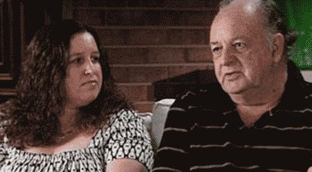 John Deaves dan anak/isterinya Jenny Deaves