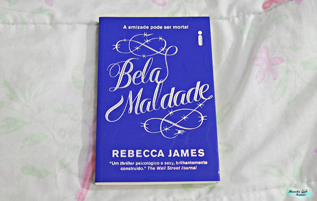 TO BE READ, TBR, MARATONA LITERARIA DE INVERNO, LEITURA, BELA MALDADE, REBECCA JAMES,