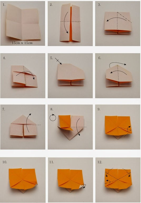 Butterfly origami instructions creative art and craft ideas for Creative ideas step by step