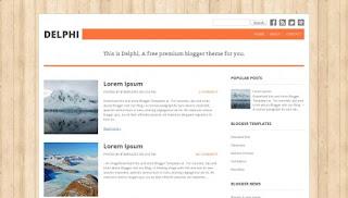 Download Delphi Blogger Template