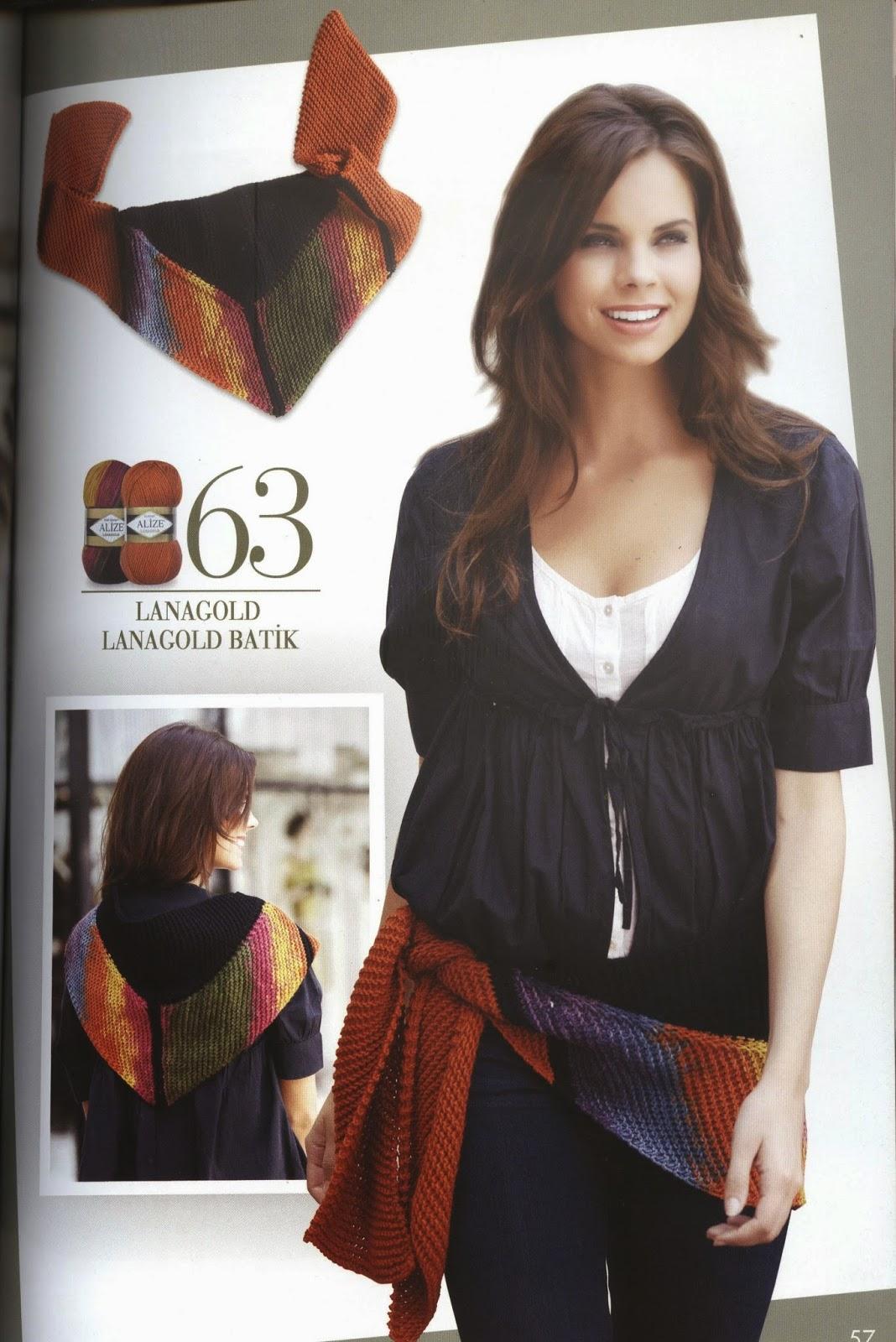 Журнал по вязанию спицами ализе