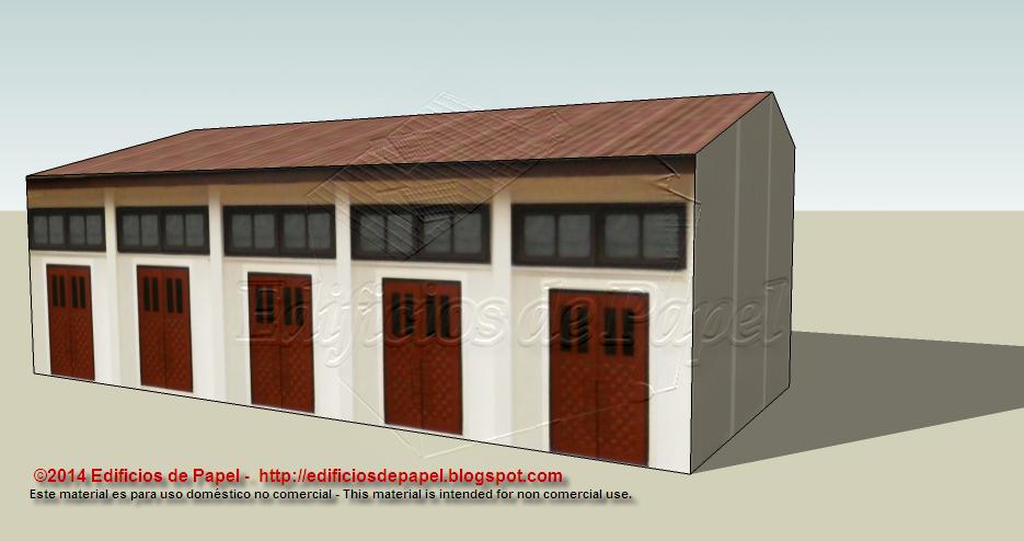 1547 Paper model - Edificios de Papel (C)2015