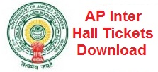 AP Intermediate 1st & 2nd Year Hall Tickets