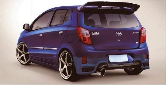 Top Modifikasi Toyota Agya Terbaru