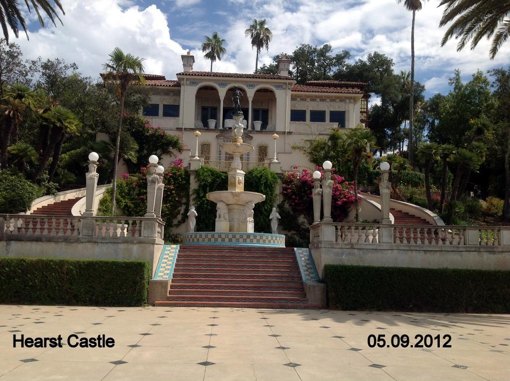 Jan martin 39 s travel blog san simeon hearst castle usa for San simion