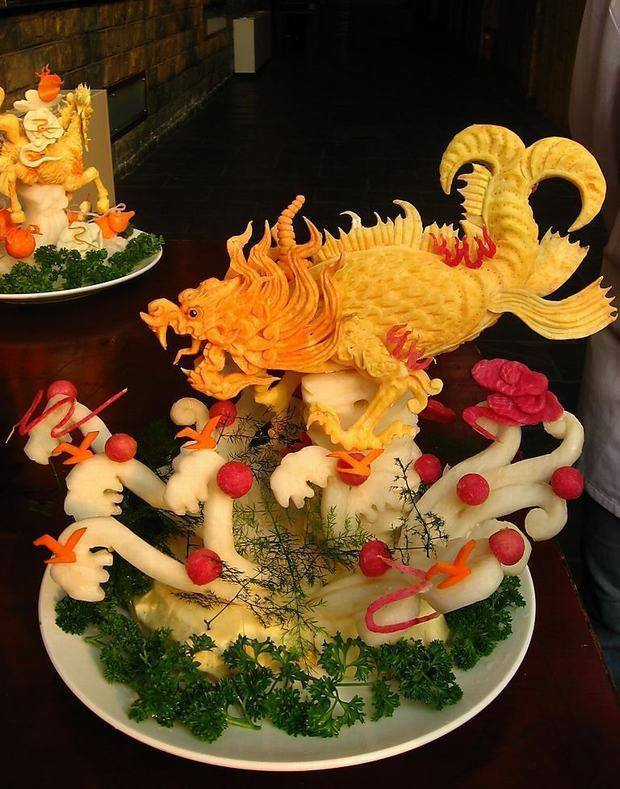 Fruit Carving Arts 1