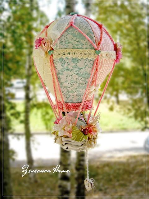 Воздушные шары своими руками из ткани 613