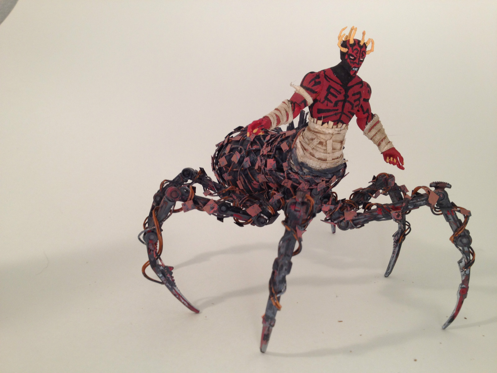 toycutter: Mecha-spider Darth Maul action figure