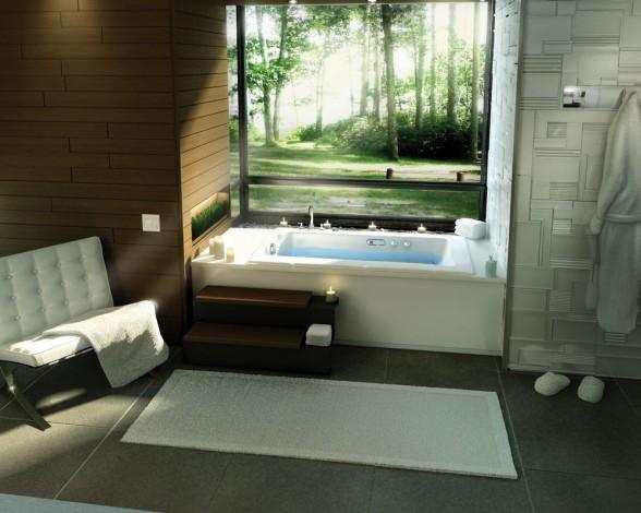 Baño Relajante Jacuzzi:Decoracion de Interiores: Hermosos Jacuzzis para tu Baño