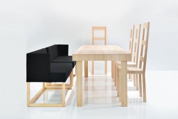 Decoracion de interiores: muebles modernos para comedor