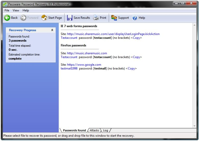 Complete password recovery solution for security admins