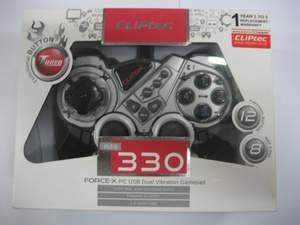 Gamepad Single Cliptec 330
