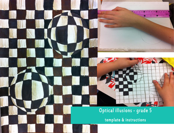 Easy Optical Illusion Art Project