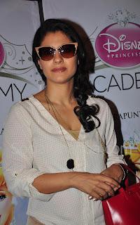 Kajol at Disney Princess Academy event