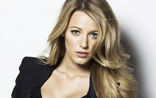 Blake Lively Glamour Gossip Blonde HD Wallpaper