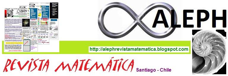 Aleph Revista Matemática