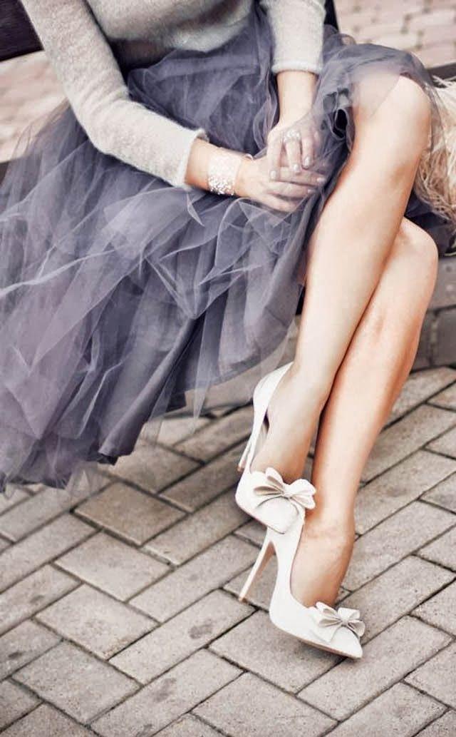 Falda de tul para ir de boda