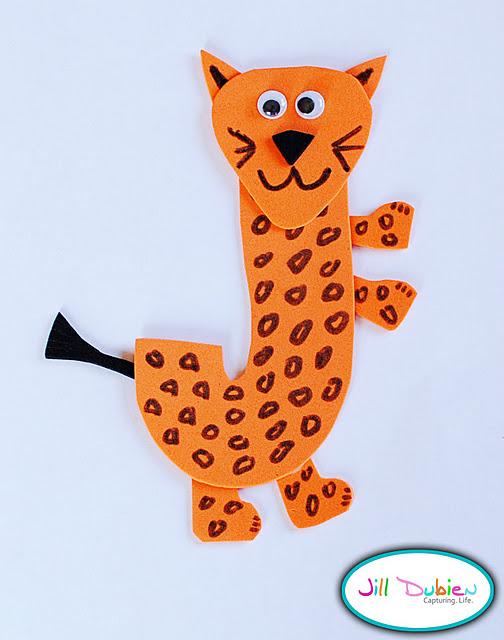 Letter J is for jaguar