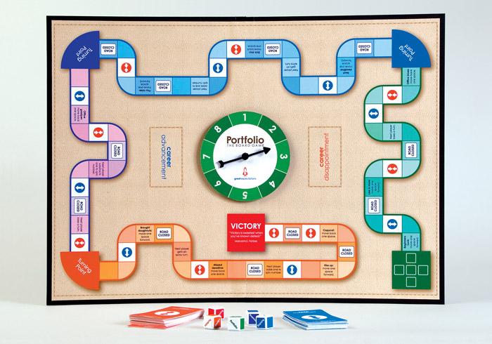 Portfolio el nuevo juego para creativos | No me toques las Helvéticas