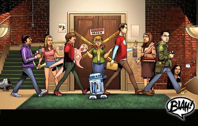FanArt de The Big Bang Theory