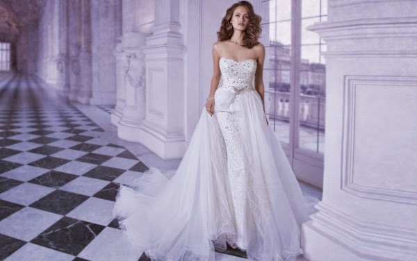 Romantic Wedding Dresses by Demetrios Couture 8