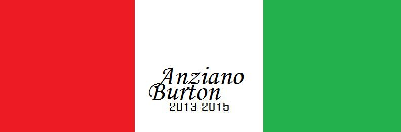 Anziano Burton 2013-2015