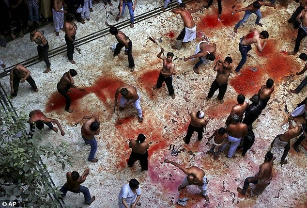 India: Watch bloody Day of Ashura celebrations