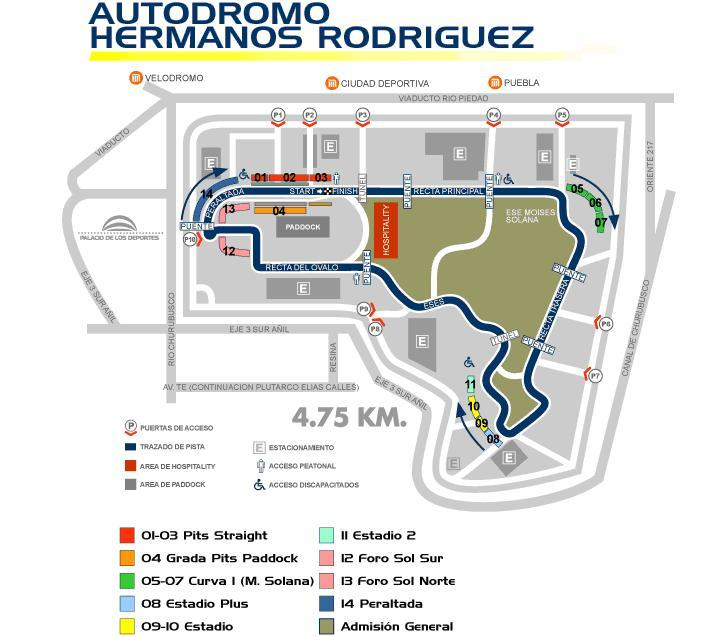 Qualy f1 un posible gp de m xico for Puerta 2 autodromo hermanos rodriguez