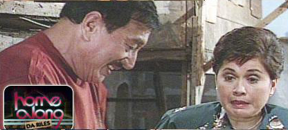 Home Along Da Riles ABS CBN 90's Sitcom Rodolfo Dolphy Quizon as Rodolfo Vera Quizon and Nova Villa as Corazon Madamba
