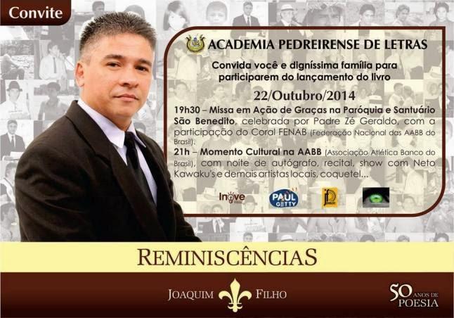 JOAQUIM FILHO - 50 ANOS DE POESIA