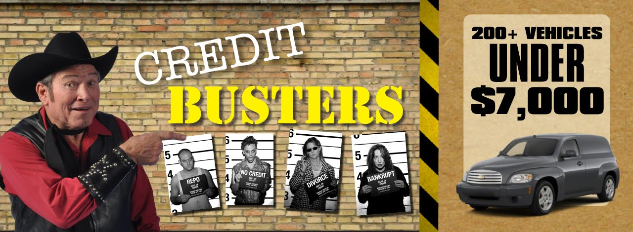Credit Busters Are Here To Help!