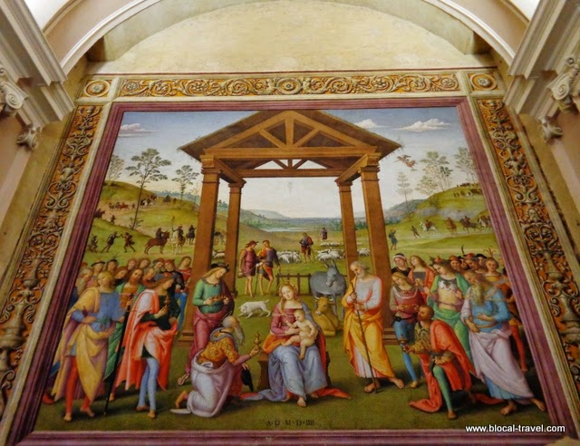 """The Magi Adoration"" - Il Perugino"