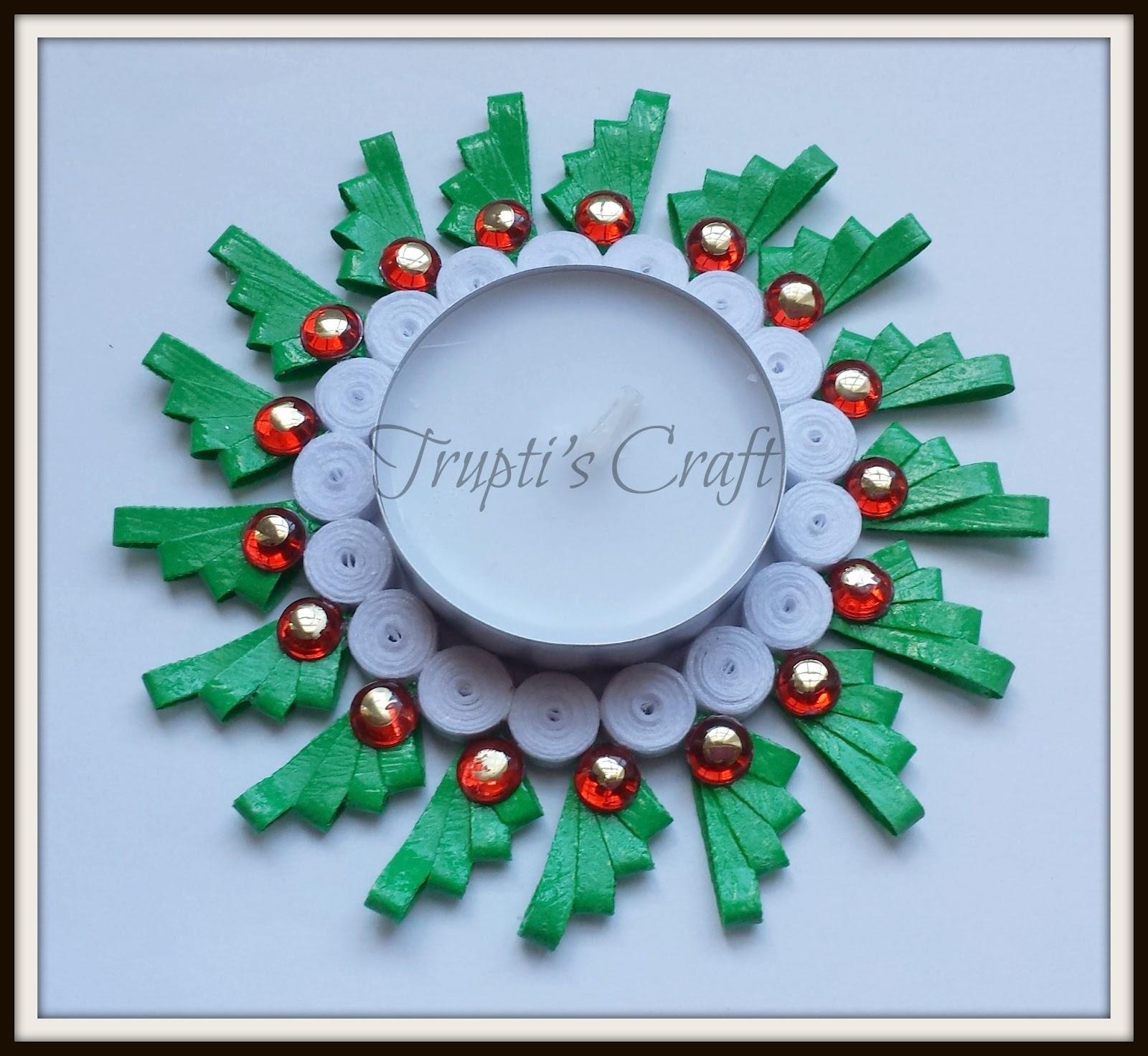 Trupti's Craft: Multipurpose Paper Quilling Candle Holder ... - photo#38