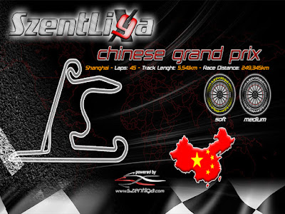 BlueBird Racing, F1, Formula-1 Szentliga, Kínai Nagydíj, Szentliga, szimulátorbajnokság,