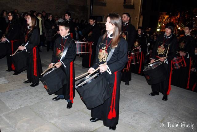 Tambores Semana Santa Barbastro
