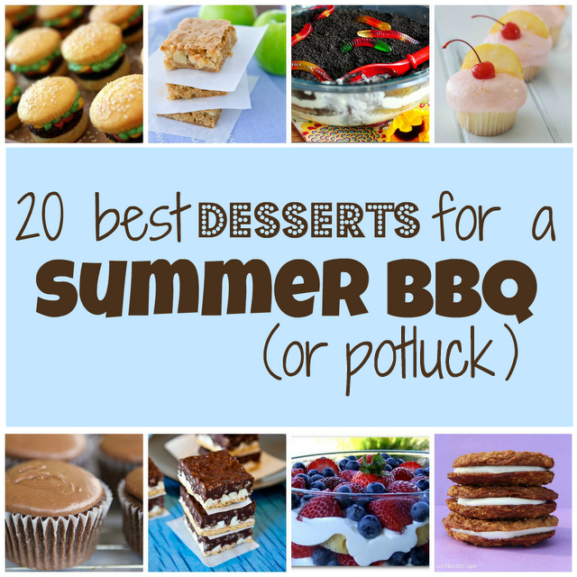 Quick easy potluck dessert recipes