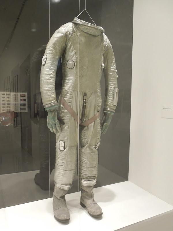 2001 Space Odyssey astronaut suit Stanley Kubrick exhibit LACMA