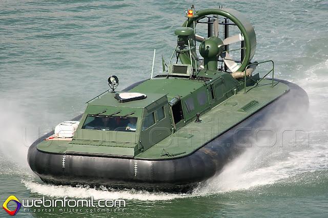Hovercraft Griffon 2000TD Colombia Armada Nacional