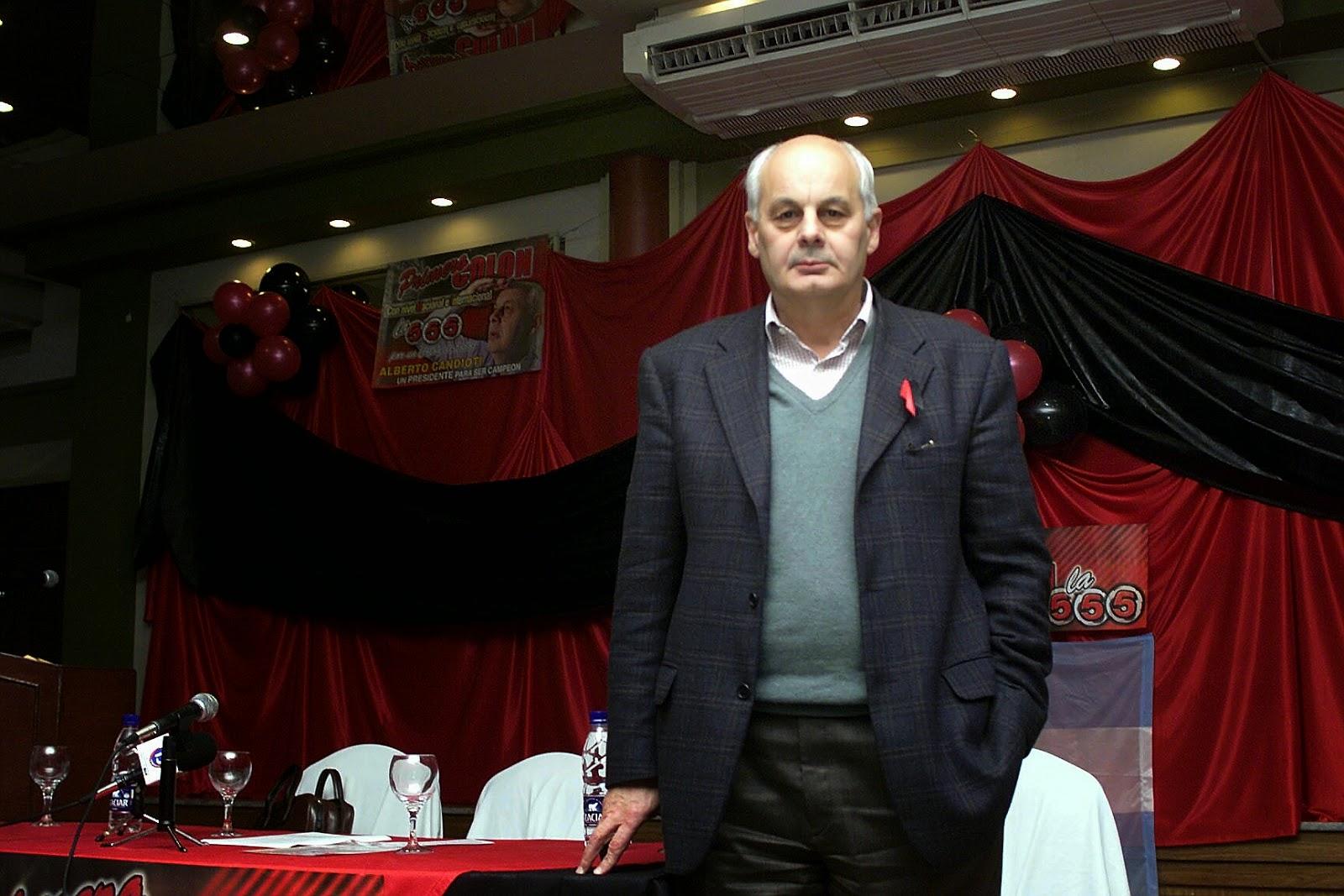 Alberto Julio Candioti, uno de los señalados por la desaparición de Suárez. No está imputado.