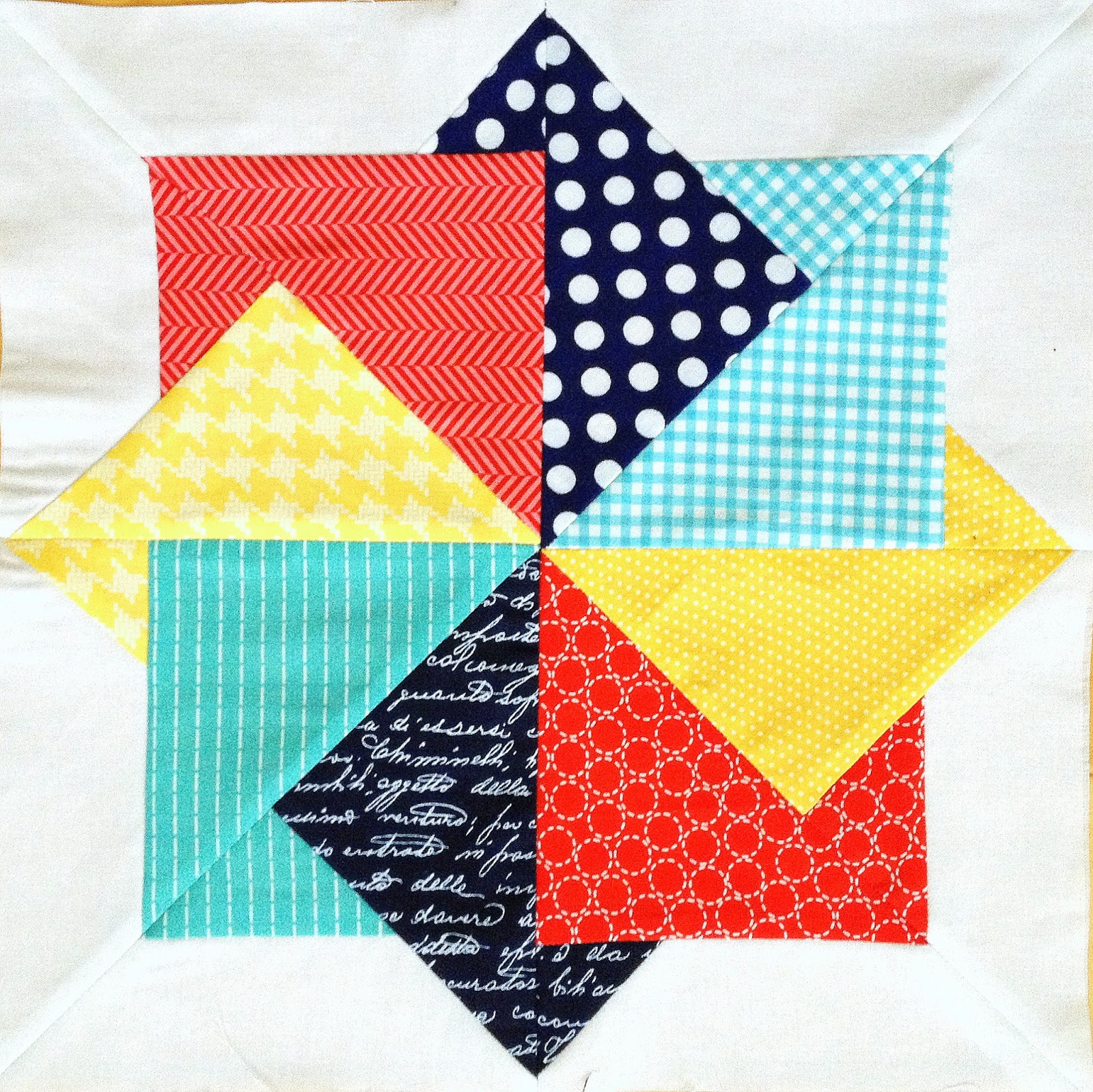 Quilting Pattern Card Trick Block : Craft Sew Create: Super Card Trick FREE Block Pattern!