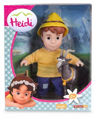 TOYS : JUGUETES - HEIDI  Pedro con Py | Muñeco + cabra Producto Oficial Serie Television 2015 | Famosa 700012540 A partir de 2 años | Comprar en Amazon España