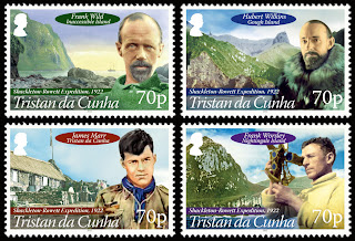 Tristan da Cunha - Shackleton-Rowett Expedition 1921-1922.