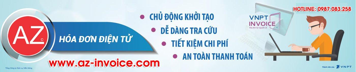 Hóa Đơn Điện Tử AZ Invoice - Dịch Vụ Hoá Đơn Điện Tử VNPT, Chữ Ký Số