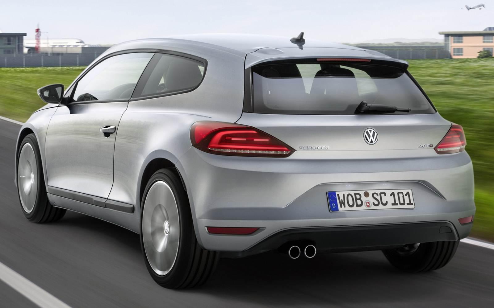 Novo Volkswagen Scirocco 2015