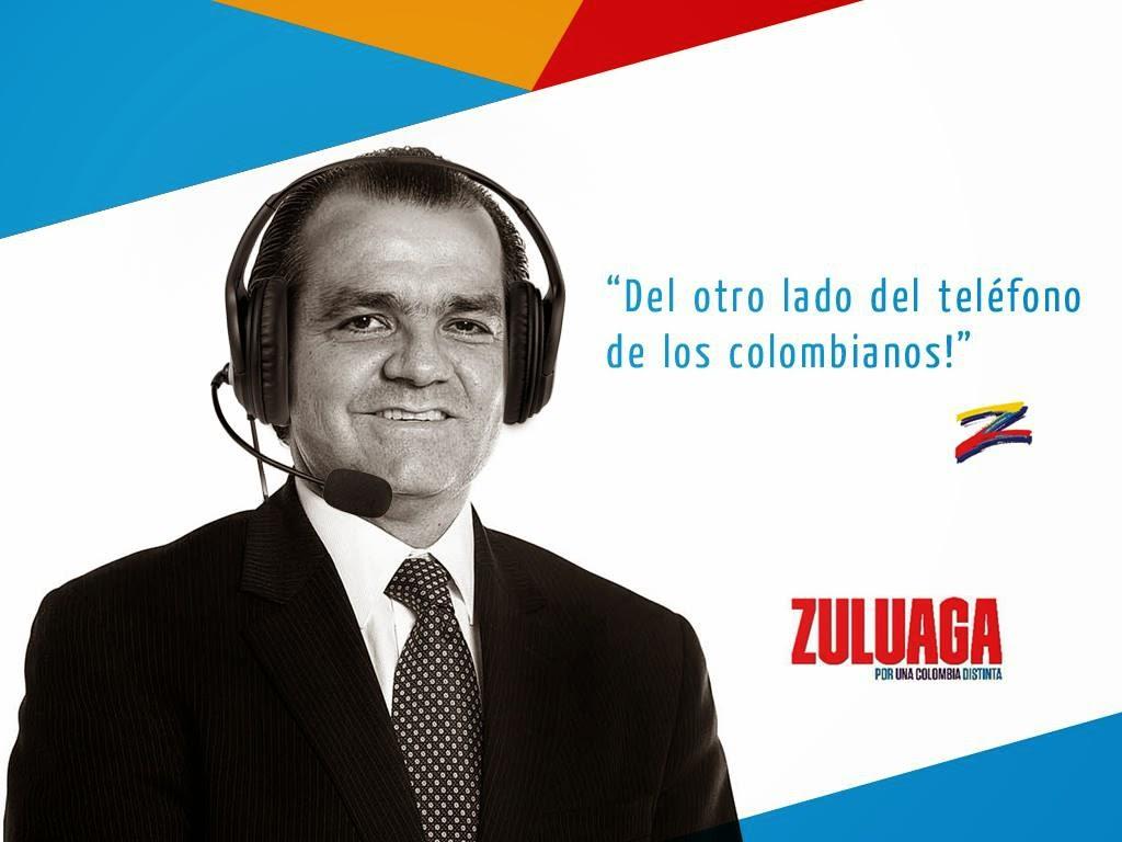 Del otro lado del teléfono de los Colombianos Zuluaga escuchando
