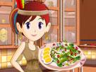 Genç Emine Beder Fasulye Salatası Oyunu